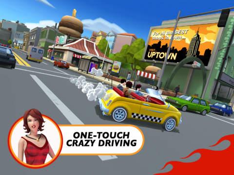 Crazy Taxi: City Rush 2